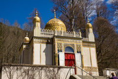 Linderhof castle. Maroccan house inside the castle Royalty Free Stock Photos