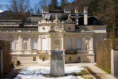 Linderhof castle. In the south part of germany Stock Photo