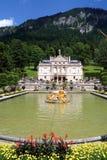 Linderhof Castle in Bavaria Germany is 948 meters above sea level Royalty Free Stock Photo