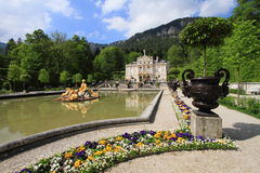 Linderhof Castle, Germany Stock Image