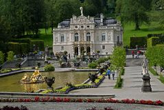 Linderhof Castle,Germany Royalty Free Stock Images