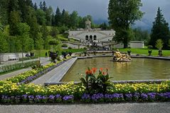Linderhof Castle,Germany Stock Photo