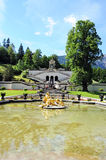 Linderhof castle Stock Images