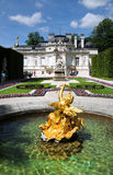 Linderhof castle Stock Photography