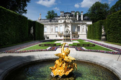 Linderhof castle Royalty Free Stock Image