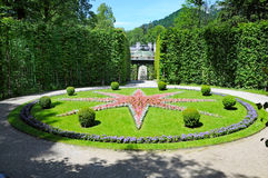 Linderhof castle Royalty Free Stock Images
