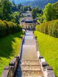Linderhof. Castle situated in Germany photographed in 2010 Stock Photos