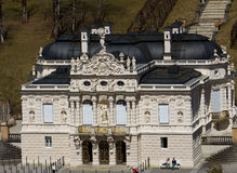 Linderhof castle Royalty Free Stock Photography