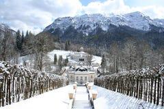 Linderhof do castelo do rei Ludwigs Imagem de Stock Royalty Free
