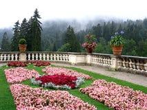 Linderhof, Germany - August 01, 2006: Castle Park Linderhof in Bavaria, Germany royalty free stock image