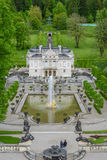 LINDERHOF, GERMANY  - Linderhof Palace is a Schloss in Germany Stock Photography