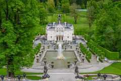 LINDERHOF, GERMANY  - Linderhof Palace is a Schloss in Germany Royalty Free Stock Photos