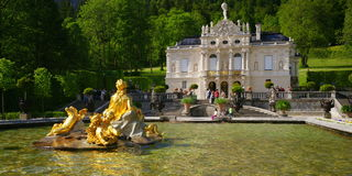 Linderhof Palace Stock Photo