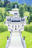 Linderhof Palace in Baviera, Germany Stock Photo