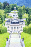 Linderhof Palace in Baviera, Germany Royalty Free Stock Images