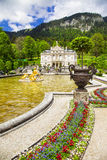 Linderhof palace Royalty Free Stock Photo