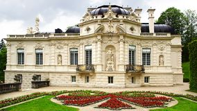 Linderhof Palace Garden. Landscape with Garden in Linderhof Palace. Germany Stock Photography
