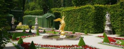 Linderhof Palace Garden Stock Photos