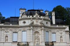 Linderhof palace, Germany. View of Linderhof palace, Bavaria, Germany Royalty Free Stock Images