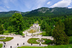 Linderhof Palace in Germany Royalty Free Stock Images