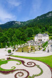 Linderhof Palace in Germany Royalty Free Stock Image