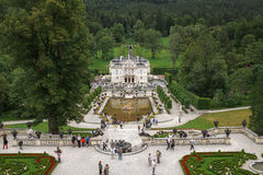 Linderhof Palace in Germany Stock Image