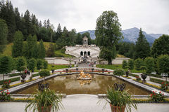 Linderhof Palace in Germany Stock Photography