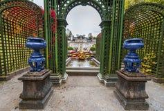 Linderhof palace park Royalty Free Stock Image