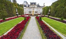 Linderhof palace park Stock Photo