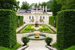 Linderhof Palace. Royalty Free Stock Images