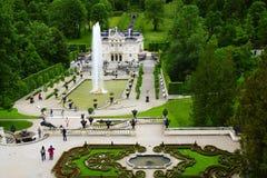 Linderhof Palace. Stock Photo