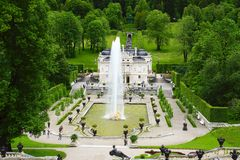 Linderhof Palace. Royalty Free Stock Photo