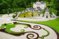Linderhof Palace. Royalty Free Stock Photography