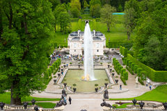 Linderhof Palace is a Schloss in southwest Bavaria, Germany. Stock Photo