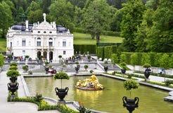 Linderhof-Palast im Bayern, Deutschland lizenzfreies stockfoto