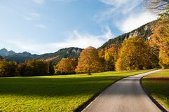 Linderhof park Royalty Free Stock Images