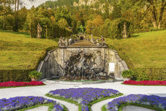In Linderhof park Royalty Free Stock Photography