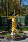 Linderhof Park. Many Statue in Linderhof Park Stock Image