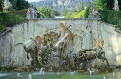 Linderhof Schloss Stockfotos