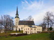 Lindesberg church. The church in Lindesberg, Bergslagen, Sweden Stock Images