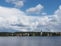 Lindesberg. A small town i Sweden Royalty Free Stock Image