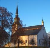 Lindesbergs kyrka. A swedish church in Bergslagen Stock Photos