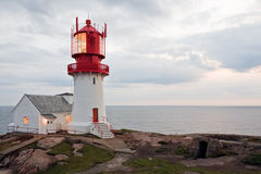 Lindesnes Fyr Stock Photography