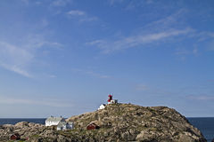 Lindesnes fyr Royalty Free Stock Photo