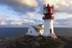Lindesnes Lighthouse - Norway Stock Image