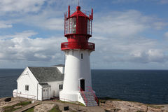 Lindesnes Lighthouse Norway Royalty Free Stock Image