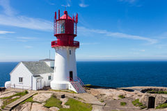 Lindesnes lighthouse Royalty Free Stock Photo