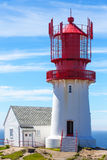 Lindesnes lighthouse Stock Image