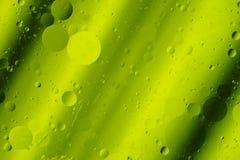 Lindgrün-Töne abstrakte Hortizontal-Design-Hintergrund-Runden Stockbilder