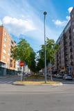 Lindhagensgatan em Kungsholmen, Éstocolmo fotos de stock royalty free